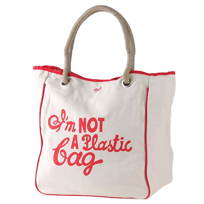I am not a plastic bag(TBC-0816)-河北好袋子环保布袋厂